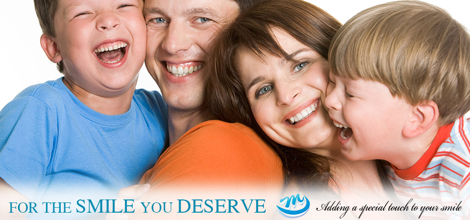 Caring for the dental health for the whole family.